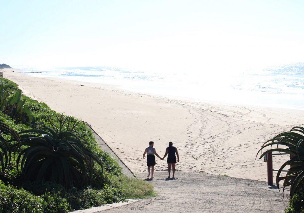Umhlanga promenade